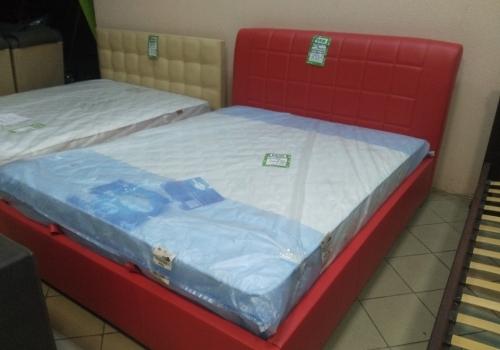 Кровать Даллас кожзам