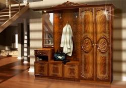 Кровать деревянная Кантри