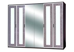 Шкаф 6Д Бася новая (Олимпия)