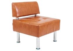 Кресло Офис Единица со спинкой (680*680*735H)