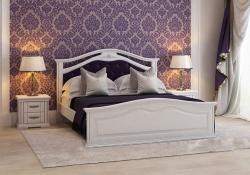 Кровать Маргаритта (белая)