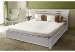 Кровать Мария (белая) (на подъёмной раме)