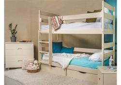 Двухъярусная кровать Ясна с ящиками