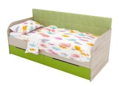 Кровать Л-7 ламели 1,9х0,8 (напр.: телескоп., без ручек)