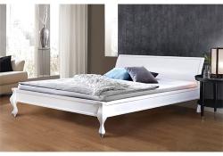 Кровать Николь (Сосна) (белая)