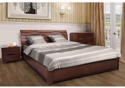 Кровать Мария (бук) (на подъёмной раме)