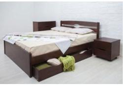 Кровать Ликерия-Люкс (Бук) с ящиками 2 шт.