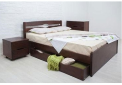 Кровать Ликерия-Люкс (Бук) с ящиками 4 шт.