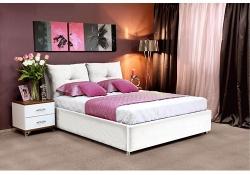 Кровать Шарм белая