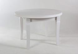Стол обеденный с круглой столешницей. 1100/3100 белый Лас-Вегас