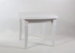 Стол обеденный с квадратной столешницей. 900*900/2900 белый Монте-Карло