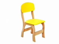 Стул детский «Фантазия» ростовой группы №2: спинка и сиденье крашеные