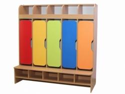 Шкаф детский 5-местная с фигурными дверями НОВИНКА!