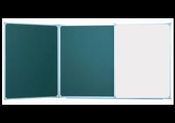 Доска аудиторная 3000х1000 мм, комбинированная