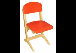 Стул детский «Антошка» с регулировкой на ростовые группы №1-3: спинка и сиденье крашеные